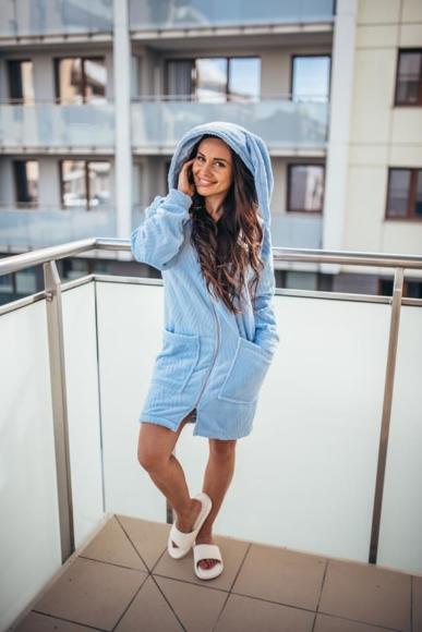 Bluza królik – niebieska