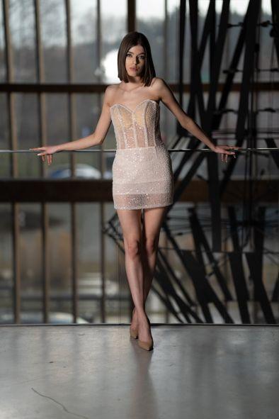 2021 Charlotta Teresa sukienka mini